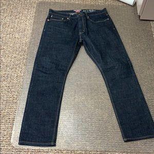 Dark Levi Denizen Jeans. Size 36/32